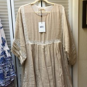 Spell & The Gypsy Collective Dresses - NWT Spell Paloma Mini Dress in Neutral Sz L